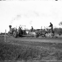 Image of 147. Steam Tractor Repairing Road