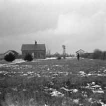 Image of 003. Hartman Farm Houses & Out Buildings. On The Left Is Ammon's, In The Mi