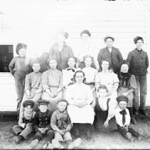 Image of 083. Valley View School Class