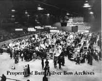 Image of High School Science Fair, Civic Center  1954