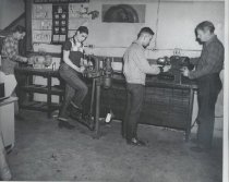 Image of Shop class at  BUtte High School.