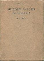 Image of Historic Shrines of Virginia - 1958.5.2