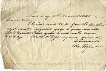 Image of Letter to Captain R. F. Watts, front