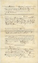Image of Metals and Minerals Option Deed - June 9, 1890