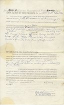 Image of Metals and Minerals Option Deed - May 2, 1890