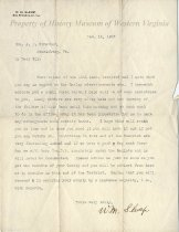 Image of Letter to A. P. Strother