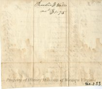 Image of Invoice, back
