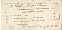 Image of tax receipt - 1883-1884