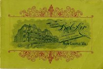 Image of Hotel Bel-Air Pamphlet, front cover