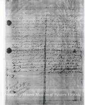 Image of Letter from Andrew Jackson, page 1