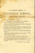 Image of Hale's Ford Classical School Advertisement