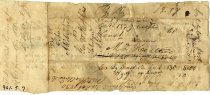 Image of Court Order, 1830, back
