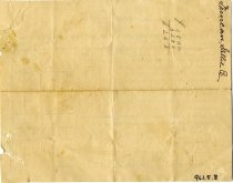 Image of Tax Receipt, back