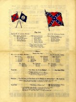 Image of Confederate Benefit Program, page 2