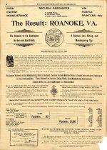 Image of Advertising Roanoke, 1893