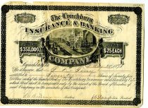 Image of Stock certificate, front