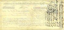 Image of Certificate of Deposit, Rear