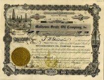 Image of Mathews-Sentz Oil Company, Incorporated