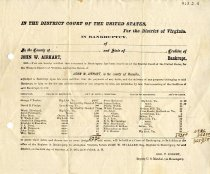 Image of Bankrupt Receipt John Airhart