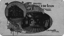 Image of Ponce De Leon Hotel Advertising Card