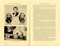 Image of Centennial Program, pages 12 & 13