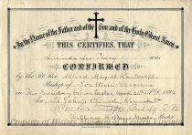 Image of Confirmation Certificate