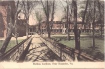 Image of Postcard of Hollins Institute, Near Roanoke, Virginia. - circa 1907