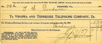 Image of Telephone Bill