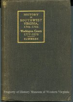 Image of History of Southwest Virginia 1746-1786, Washington County, 1777-1870 - 1966.35.86