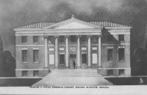 Image of Charles L. Cocke Memorial Library, Hollins Institute. Virginia. - 1908