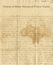 Image of letter - May 2, 1827