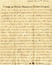 Image of letter - October 12, 1829