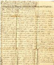 Image of Letter - July 27, 1831