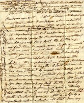 Image of letter - May 21, 1832