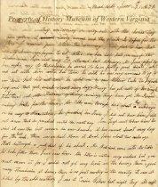 Image of letter - June 7, 1832