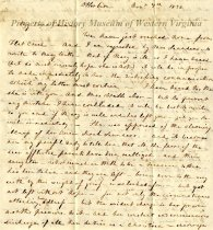 Image of letter - November 7, 1832