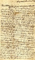 Image of letter - March 20, 1833