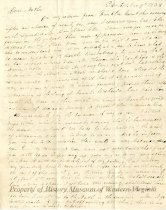 Image of letter - March 9, 1838