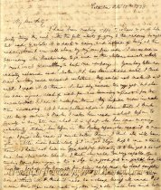 Image of letter - October 18, 1838