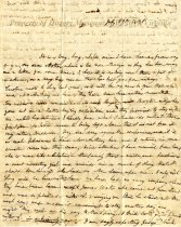 Image of Letter - July 19, 1839
