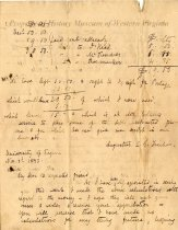 Image of letter - November 3, 1843