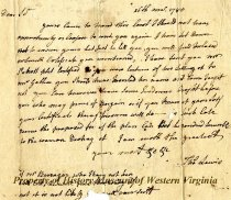 Image of letter - March 26, 1780