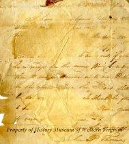 Image of letter - September 26, 1788