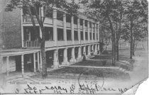 Image of Postcard of  East Building. Hollins, Virginia. - circa 1907