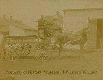 Image of Pitzer Transfer Company, circa 1890