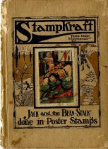 Image of Jack and the Beanstalk, done in poster stamps - 1988.137.13e