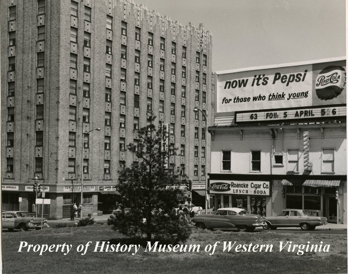 Ponce De Leon Hotel Circa 1955 A Black And White Photograph Of