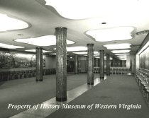 Image of The Fountain Room at Hotel Roanoke, 1947