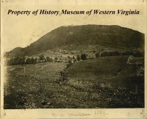 Image of View of Mill Mountain, 1886