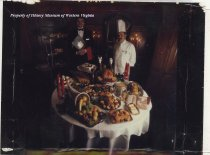 Image of Thanksgiving Meal, Hotel Roanoke, 1982
